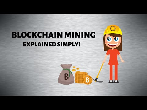 Blockchain Mining Explained Simply! How Does Mining Work And What Is A Blockchain Miner?