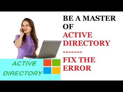 The target principal name is incorrect | Error 2146893022 | Active Directory