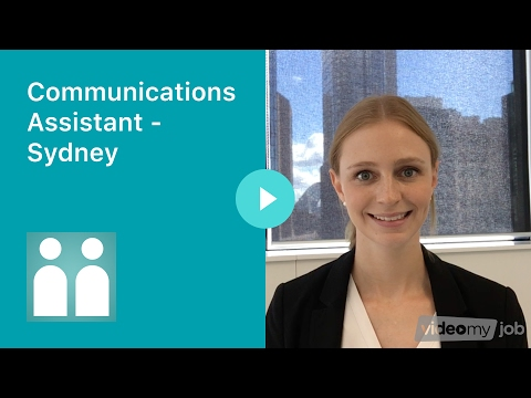 Communications Assistant - Sydney