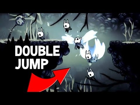 how to get double jump hollow knight