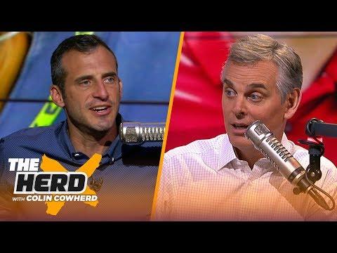 Doug Gottlieb talks Packers, Zeke holdout, RB market, Clowney trade & Jalen Hurts' debut | THE HERD