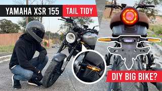 Yamaha XSR 155 | Simple Tail Tidy + LED Turn Signals DIY
