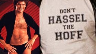 Don't Hassel the Hoff: Hasselhoff coffee ads stolen by the hundreds