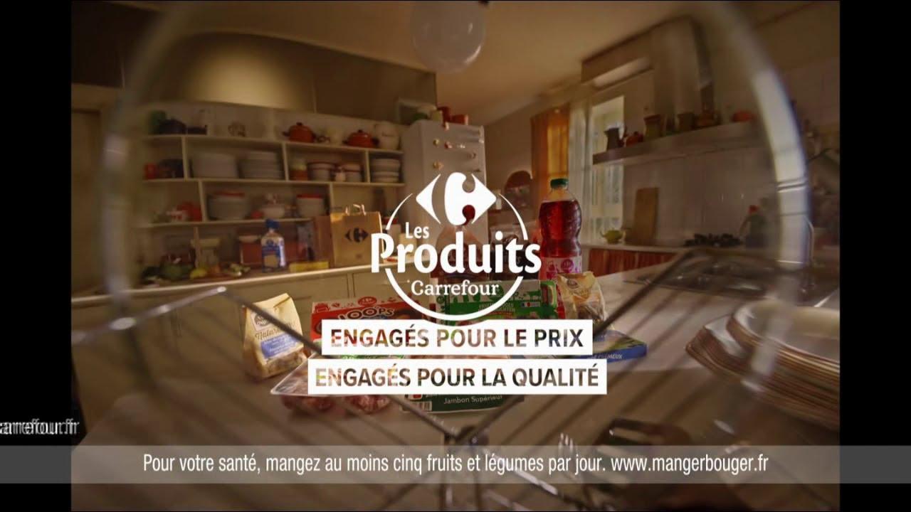 """Musique de la pub Les produits Carrefour """"engagés pour le prix & pour la qualité""""  Mai 2021"""