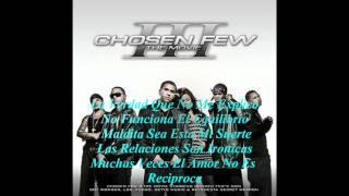 08. Jowell & Randy Ft LDA - Entonces Esta Bien (Chosen Few III The Movie 2008) Con Letra