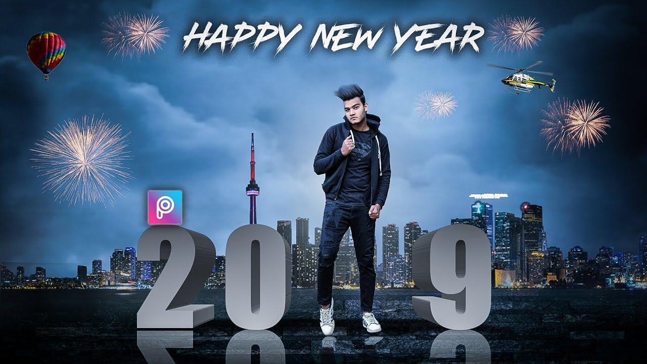 Happy New Year Editing Background 57