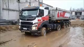 WEGNER Volvo FMX 460KM 4x4 w akcji 2017