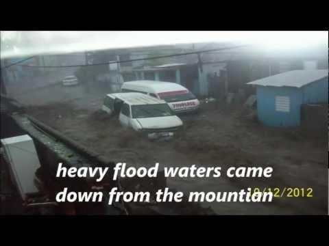 Tropical Storm Rafael @ St Kitts