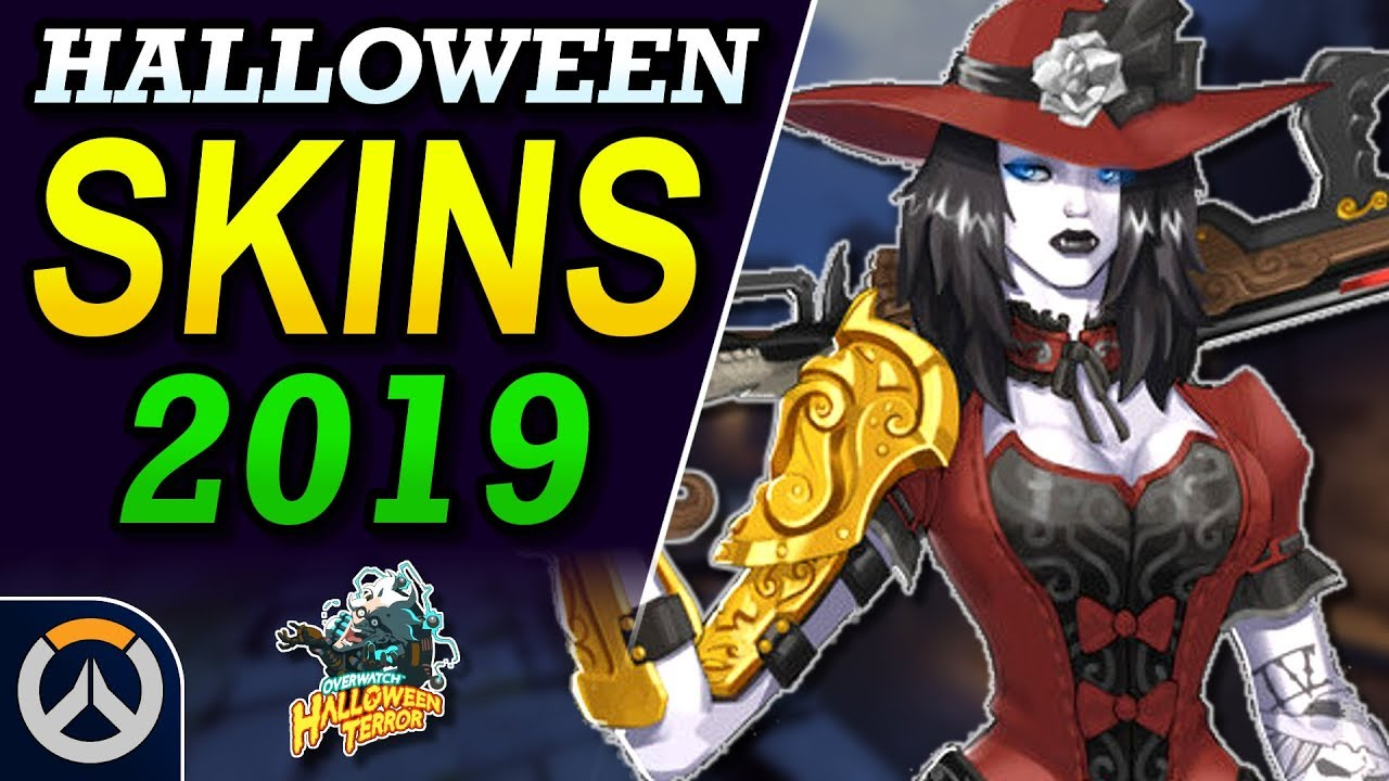 Overwatch Christmas 2019 Skins.Overwatch 2019 Halloween Event Skin Ideas Spider Orisa Vampire Ashe More