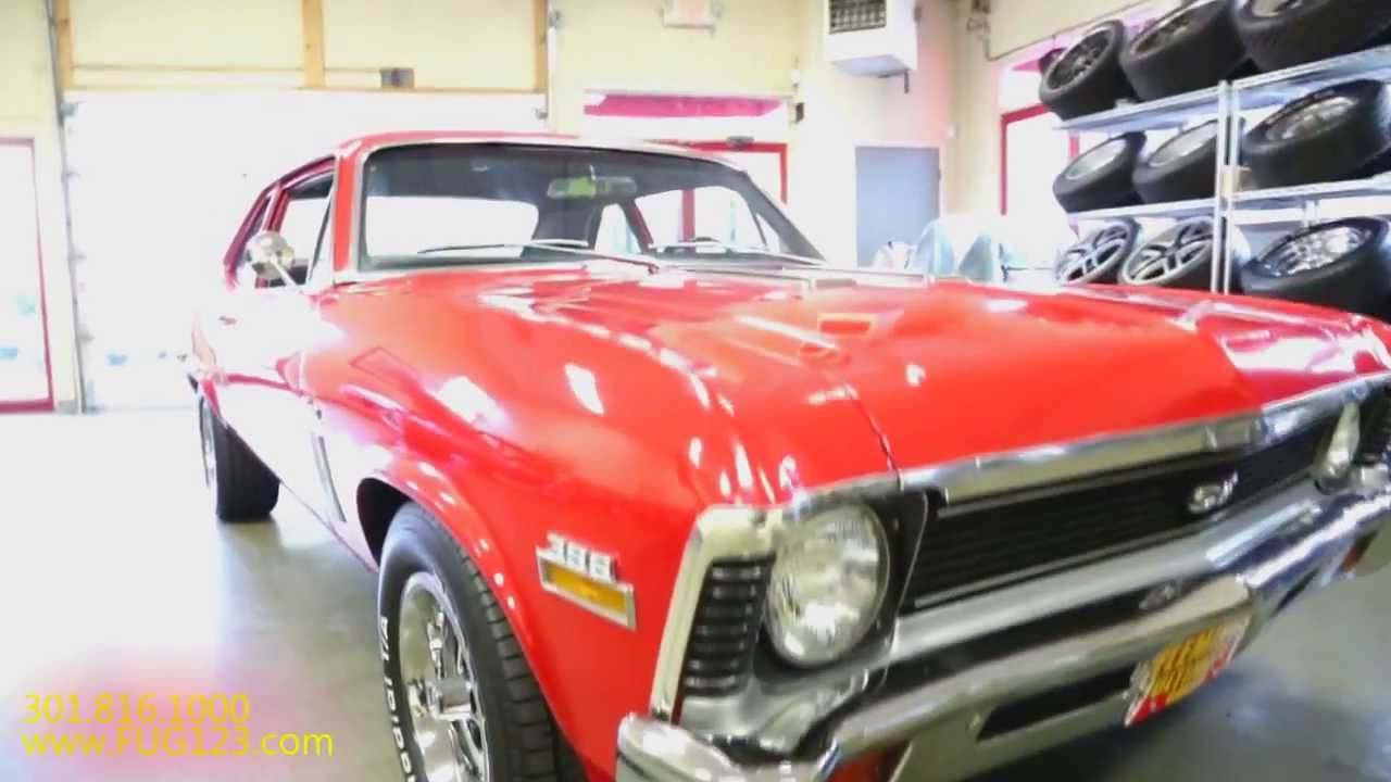 1970 chevrolet nova ss396 4 speed for sale with test drive driving sounds and walk through video youtube [ 1280 x 720 Pixel ]