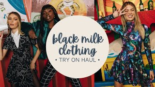 blackmilk clothing try on/haul - monumental museum (2021) size small, medium, and large