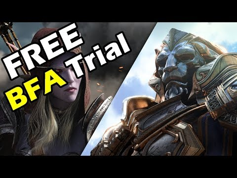 BLIZZARD offer FREE TRIALS of BATTLE FOR AZEROTH (after only 2 months)!!