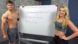 How To Lose Weight Fast By Doing 10-Minute Fat-Burning Cardio With Connor & Kelly