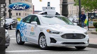 Ford & Argo AI – 3rd Generation Autonomous Test Vehicle
