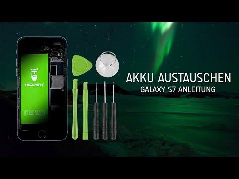 Galaxy S7 Galaxy S7 Edge Akku Austauschen Schritt Fur Schritt Anleitung Youtube