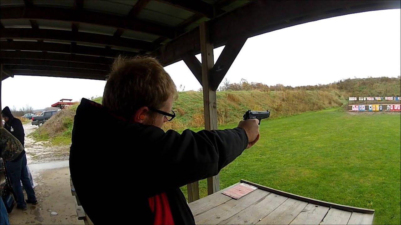 Girsan MC Regard 9mm At The Range