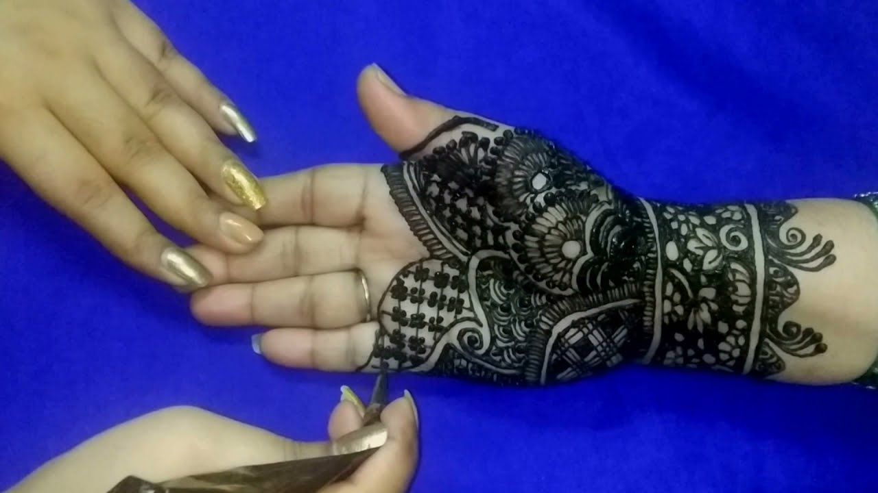 Latest Mehndi Design for Eid   Eid Mehndi Design   Full Hand Mehndi Design   Smriti Shrivastav