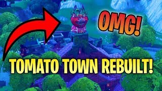 Tomato Temple gets Rebuilt!   Then.. Sensify's EPIC Highlight Reel!! Fortnite: Battle Royale