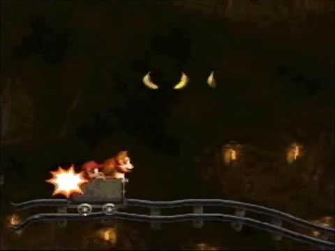Donkey Kong Country - 101% Walkthrough, Part 27 - Mine Cart Madness