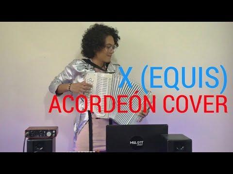 X EQUIS Nicki Jam ft J Balvin Mulett Acordeón Cover