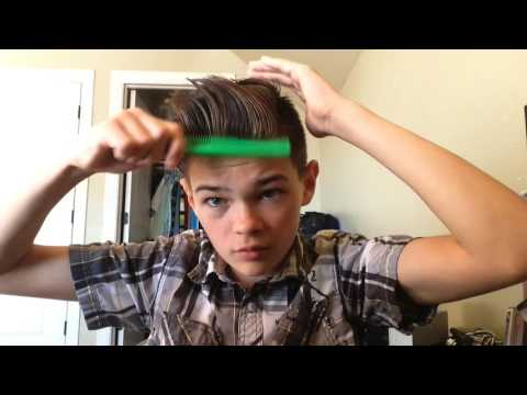 How to make an awesome hair style for boys