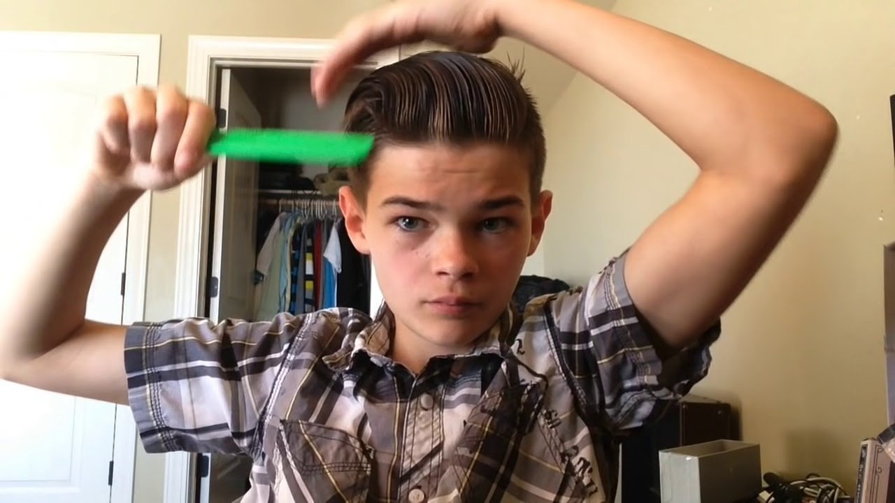 how to make an awesome hair style for boys - youtube