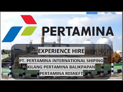 Recruitment Experienced Hire Pertamina Group 2021 | PWTT U0026 PWT | Tutorial Melamar Kerja Di Pertamina