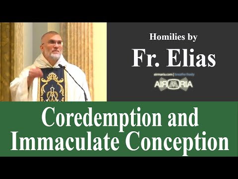 Coredemption and Immaculate Conception - Oct 12 - Homily - Fr Elias