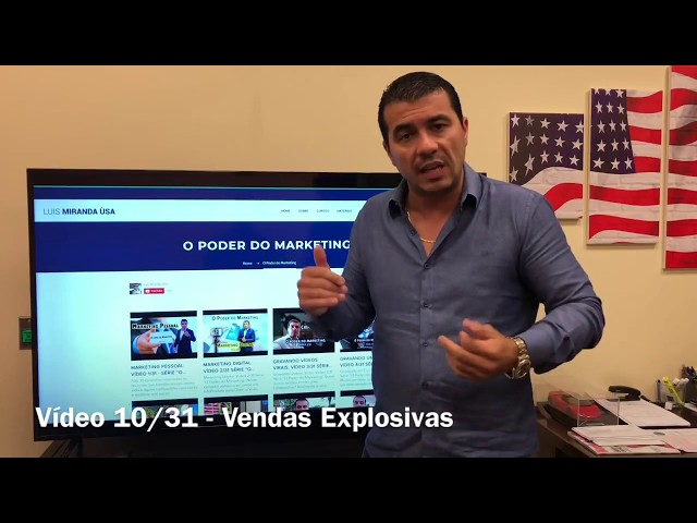 "Vendas Explosivas - Sonho ou Pesadelo? Vídeo 10/31 ""O Poder do Marketing"""