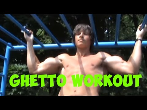 Ghetto Workout. Russia.Moscow.2011 (A.N.B.U. team)