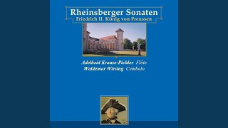 Sonata for flute & continuo in G minor: III. Vivace