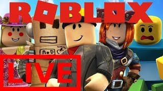 Roblox Monday Stream! Playing With Subs!║Roblox Live Stream║Giveaway at 1k Subs
