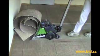 Škrabač-loupač linolea, parket, koberců, lepenky, izolace model CONTEC Turbo