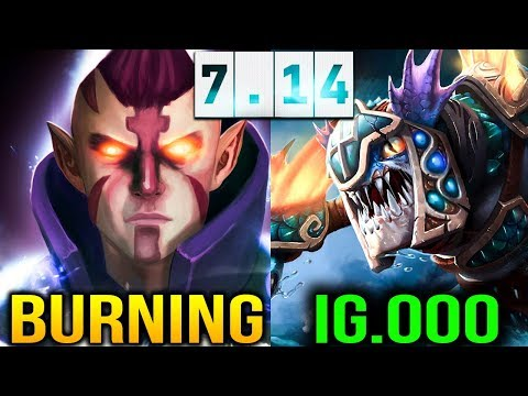 BurNIng [Anti Mage] IG's CARRY BATTLE Dota 2 thumbnail