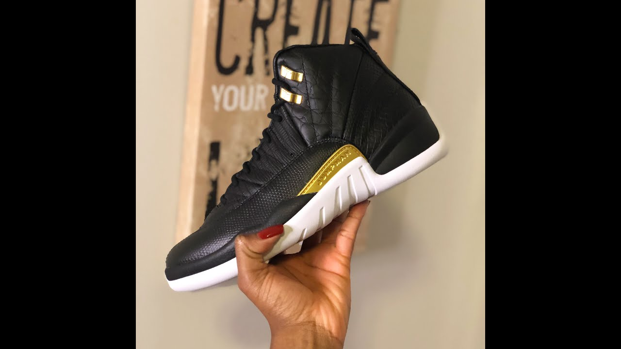 EARLY UNBOXING OF THE AIR JORDAN 12