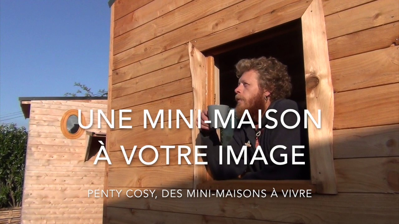bois d 39 ici fabricant de tiny houses sur mesure youtube. Black Bedroom Furniture Sets. Home Design Ideas