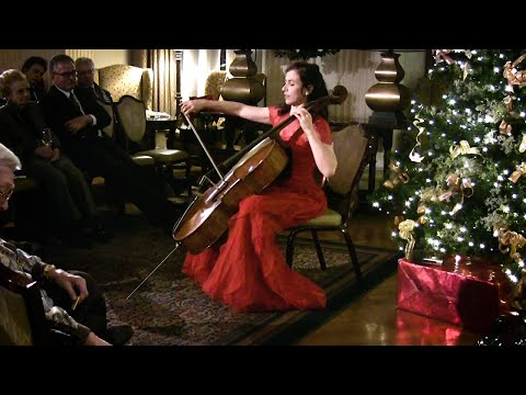 Inbal Segev Performs The Prelude From Bach's Cello Suite No. 3.