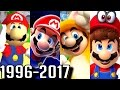 All 3D Mario Game Trailers 1996-2017 (Switch, Wii U, 3DS, Gamecube, N64)