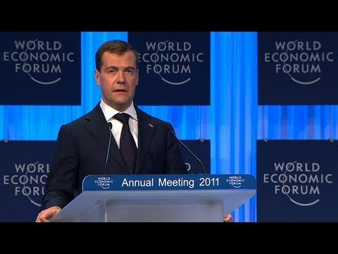 Davos Annual Meeting 2011 - Dimitry Medvedev