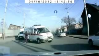 Реакция водителя спасла жизнь этой женщине