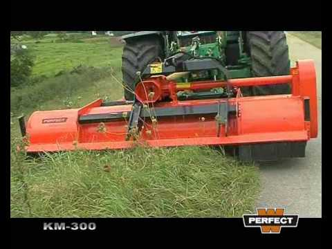 """""""Perfect"""" Model KM Front and Rear mount Heavy Duty Flail Mower"""