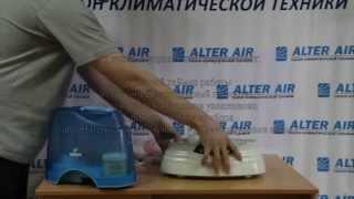 видео Увлажнитель воздуха для детской комнаты на alterair.ua
