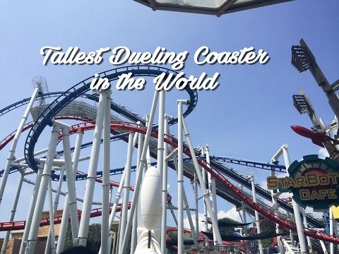 Battlestar Galactica Roller Coaster Universal Studios Singapore