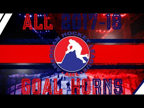 All AHL Goal Horns (2017-18)