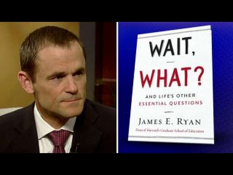 Harvard dean opens up about life's big questions