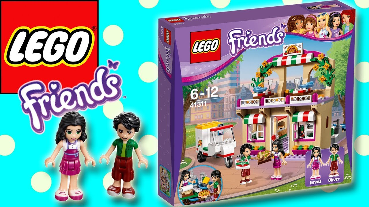 Lego Friends Heartlake Pizzeria Build Play Little Kelly