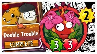 Spudow - Double Trouble Strategy Deck Colossal Fossils Set 3 - Plants vs Zombies Heroes Gameplay