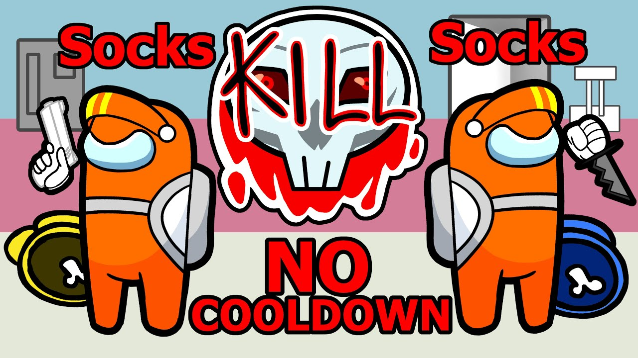No Kill Cooldown With 2 Impostors Among Us Youtube