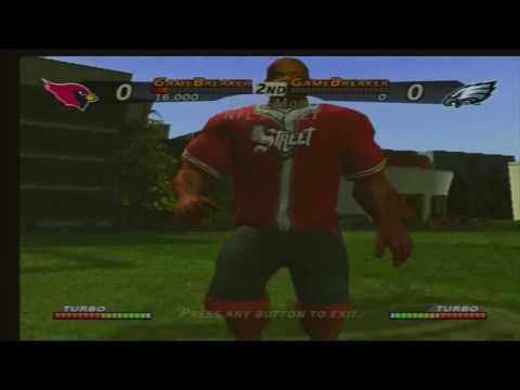 Repeat NFL Street Cardinals vs Eagles Demo EA SPORTS BIG by