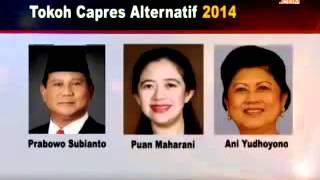 LSI merilis Hasil survey Calon Presiden 2014 - Pemilu 2014